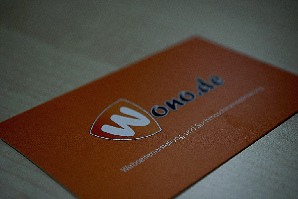 Businesscard wono